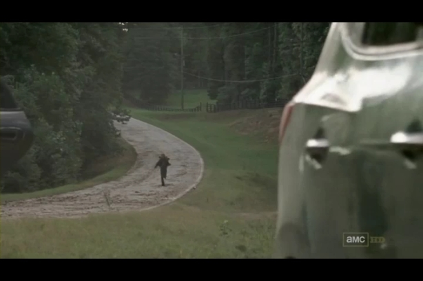 You just know that guy is going to die... poor hitchhikers...