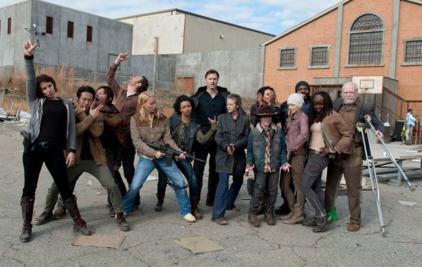 Great cast picture but it's hard to see the Governor smile without getting a shiver down my spine.